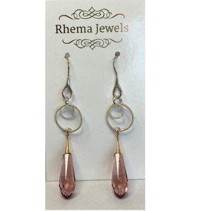 Rhema Jewels SWAROVSKI Vintage Rose